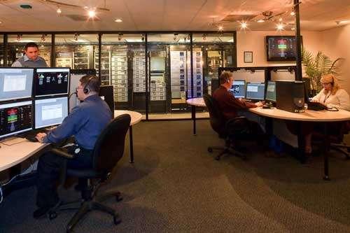 U.S. Alert monitoring central station