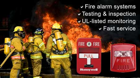 U. S. Alert offers fire alarm systems and services