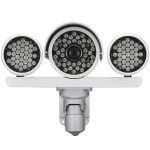 Infrared illumination camera