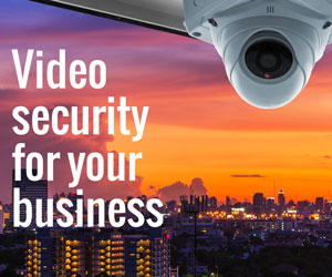 Business security cameras and surveillance systems.