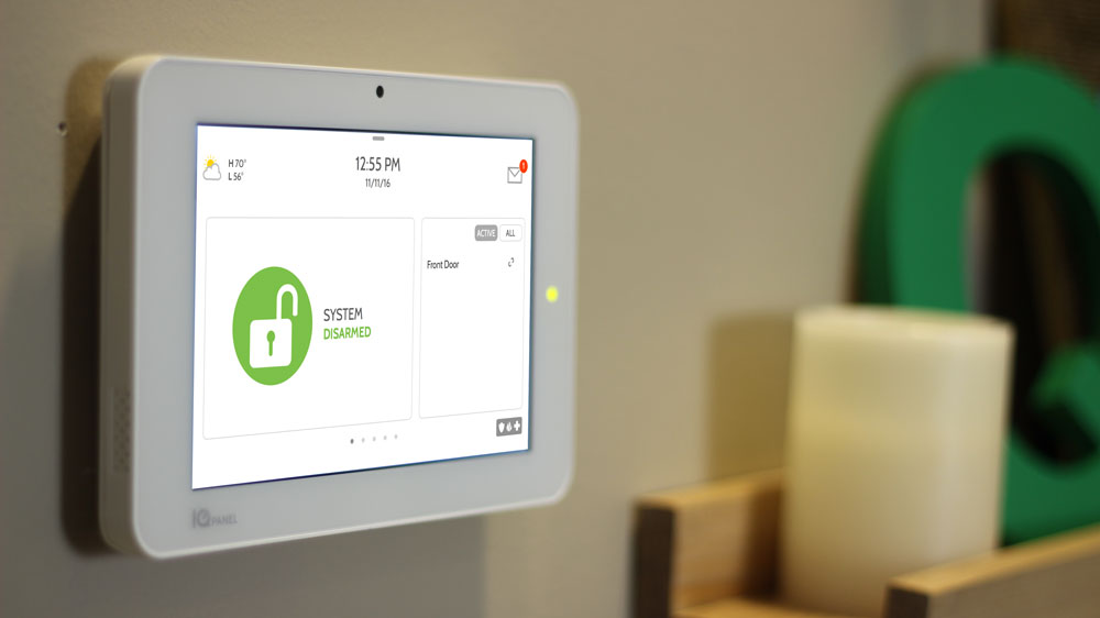 Home security system made simple