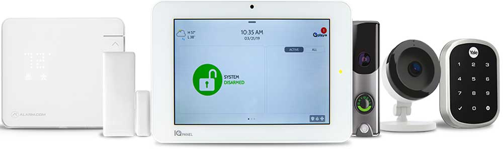 Qoplsys Home Security System with Home Automation